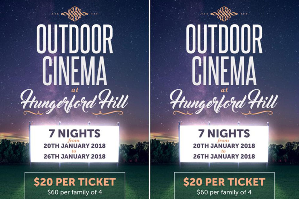 Outdoor Cinema @ Hungerford Hill
