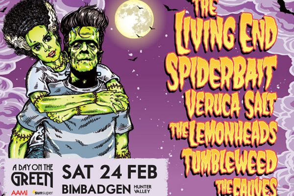 Living End, Spider Bait, A Day on the Green, Hunter Valley