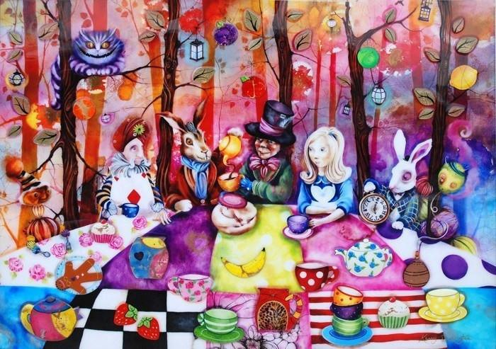 Mad Hatters Tea Party at Estate Tuscany