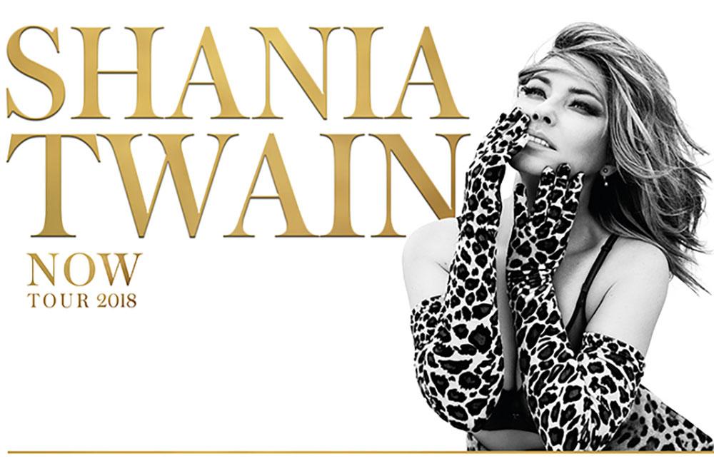 Shania Twain 'Now Tour'