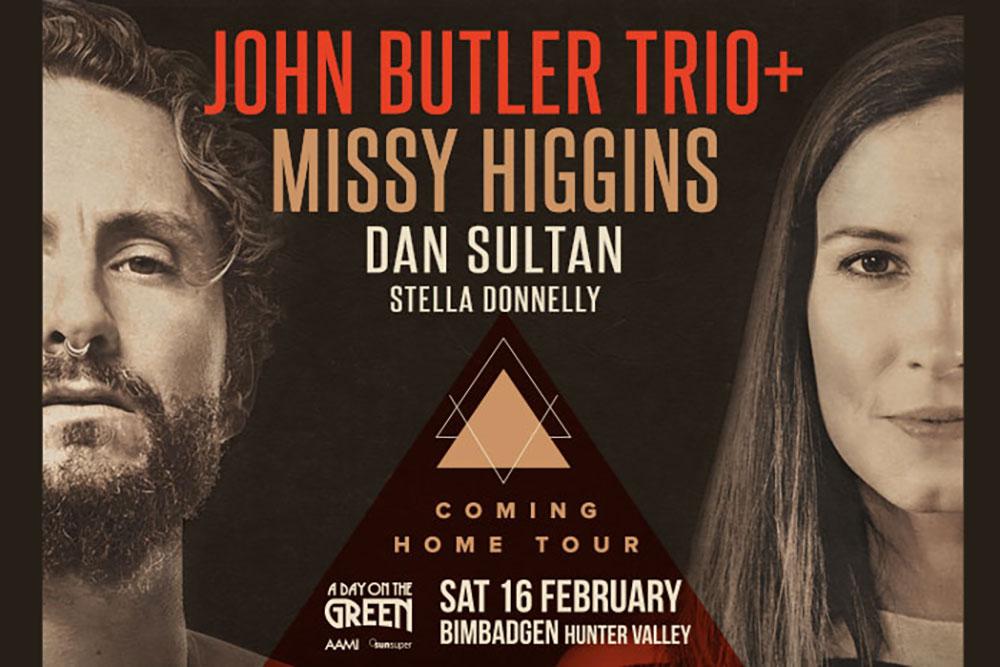 A Day on the Green - John Butler Trio