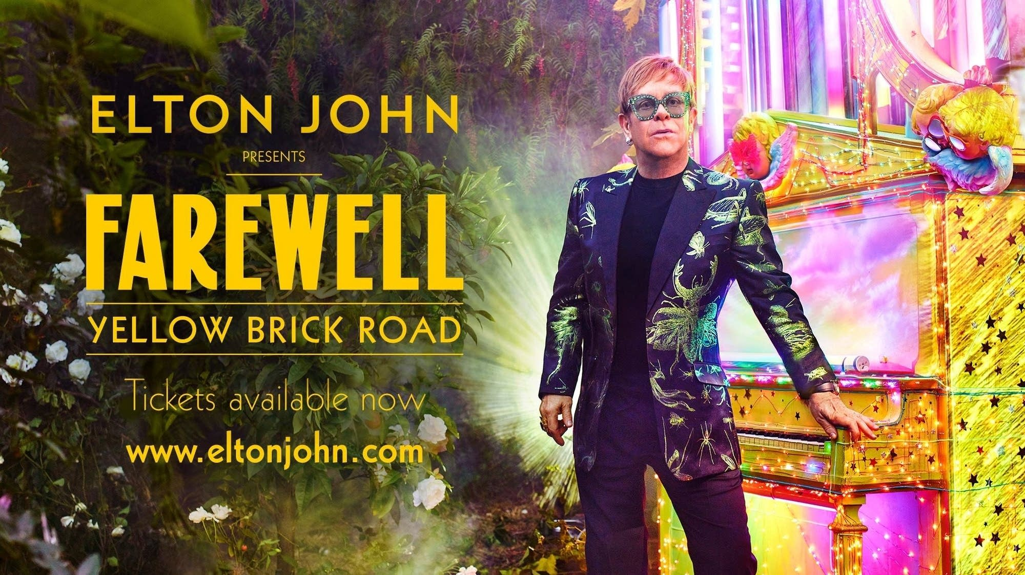 Elton John - Farewell Yellow Brick Road Tour