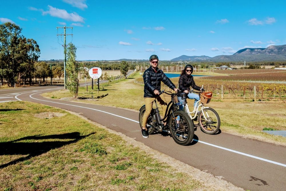 1ST RELEASE TOUR BY ELECTRIC BIKE