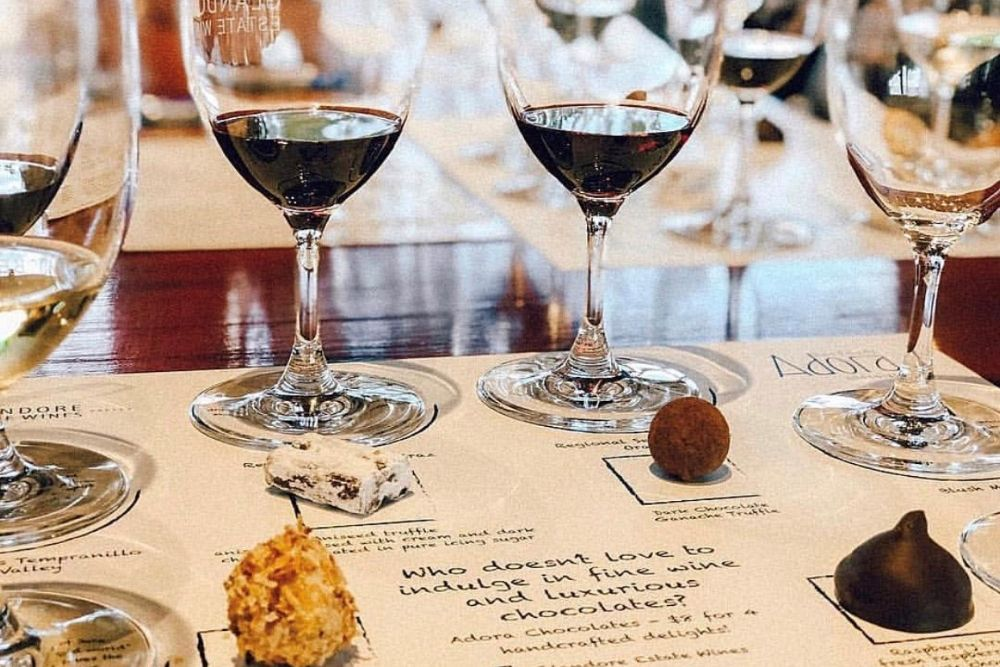1ST RELEASE WINE AND HUNTER VALLEY CHOCOLATE TASTING