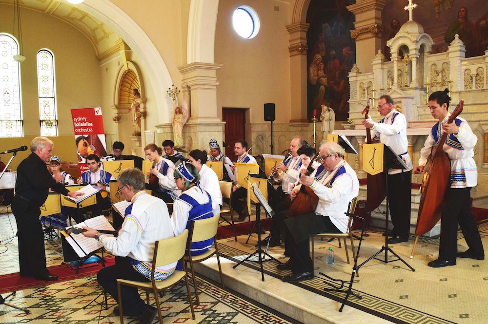 Sydney Balalaika Orchestra in concert
