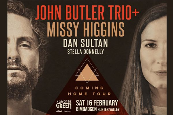 John Butler Trio & Missy Higgins, Bimbadgen, Hunter Valley